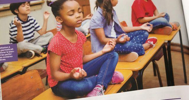 La méditation m'a fait un beau cadeau : la bienveillance