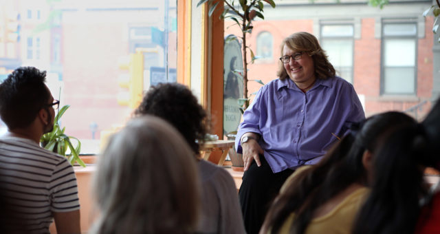Rencontre avec Sharon Salzberg